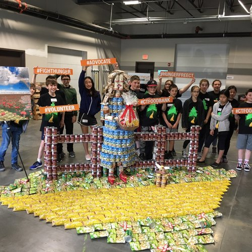 JCJ and Gideon Welles School take home two awards at CANstruction 2019