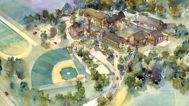 New Campus Master Plan, Columbia Independent School