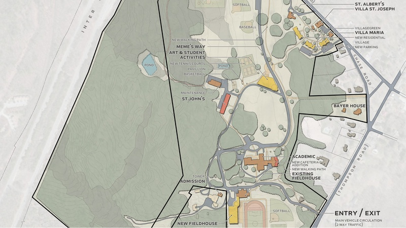 Campus Master Plan, Marianapolis Preparatory School
