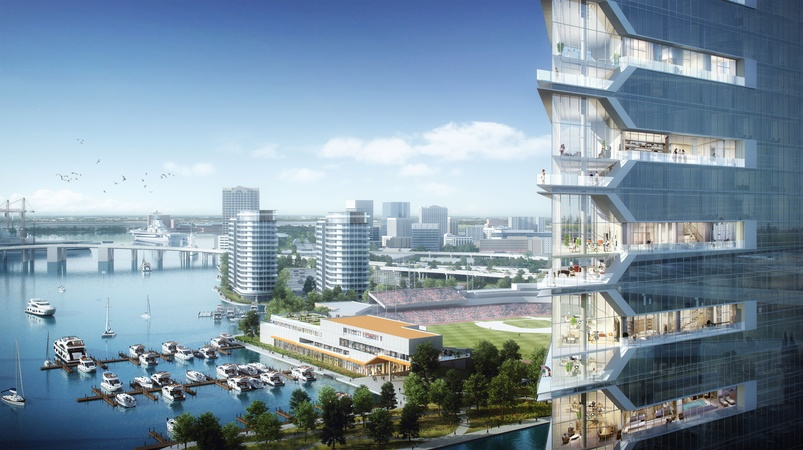 Pamunkey Casino Resort Norfolk Concept