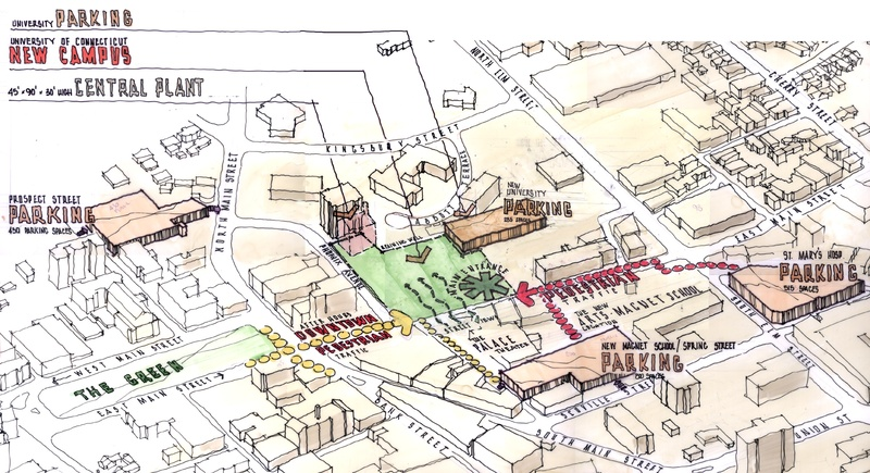 Downtown Waterbury Campus, UCONN | JCJ Architecture