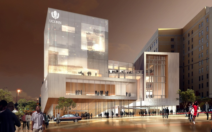 Downtown Hartford Campus Concept, University of Connecticut