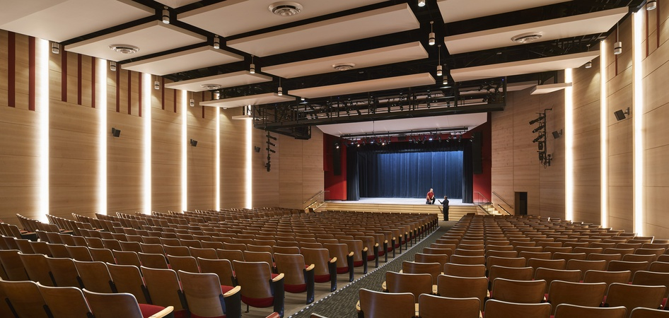 Saxe Middle School Theater Renovation