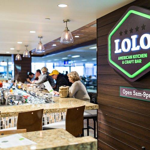 JCJ's LOLO American Kitchen & Craft Bar voted Best Airport Bar