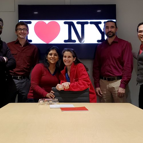 JCJ Wear's Red for American Heart Month