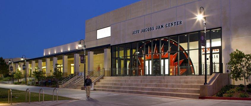 Jeff Jacobs Jam Center San Diego State University Jcj Architecture