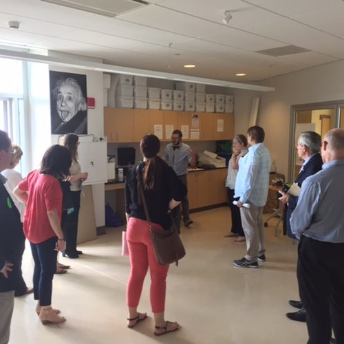 JCJ hosts A4LE members: a tour of Fairchild Wheeler Magnet Campus